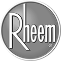 Rheem Logo | Bragg Plumbing & Heating | Novato Professional Plumbers & HVAC Experts