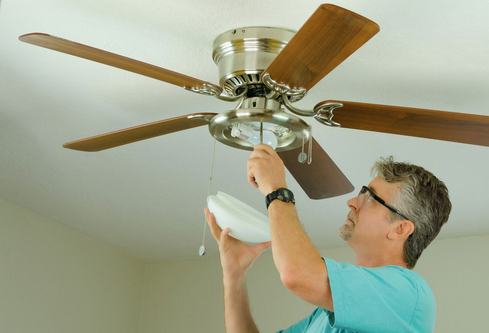Ceiling Fan Repair | Bragg Plumbing & Heating | Novato Professional Plumbers & HVAC Experts